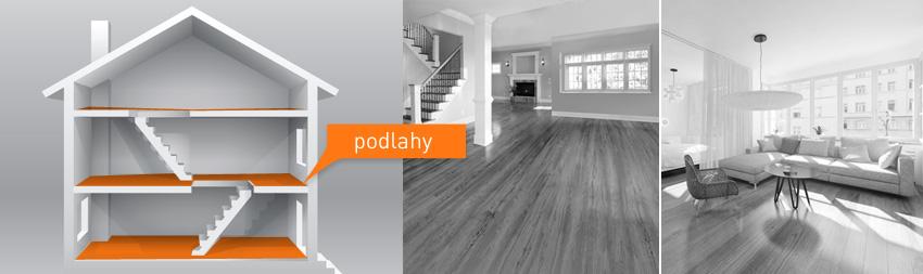Kategorie - Podlahy