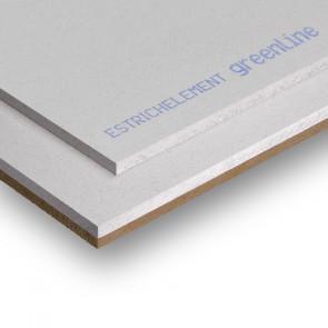 2 E 31 gl (EE 20 DV 10) podlahový prvek fermacell greenline, 1500 x 500 x 30 mm, izolant dřevovláknitá deska 10 mm