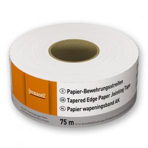 Papírová vyztužující páska fermacell, šířka 53 mm, 75 m role