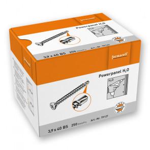 Šrouby fermacell Powerpanel H2O, 3,9 x 40 mm svrtací špičkou, nerezová povrchová úprava, 250 ks